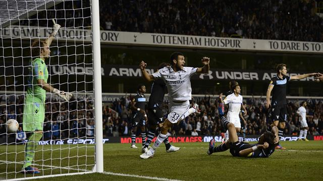 Disallowed goals force Spurs to settle for draw with Lazio