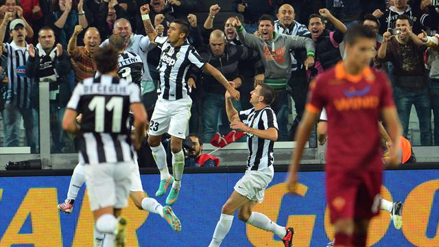 Juventus ease past Roma