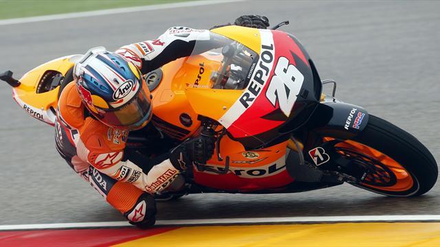 Pedrosa wins Aragon MotoGP