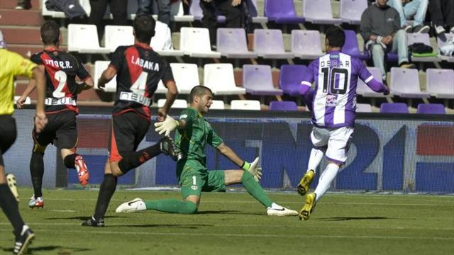 Real Valladolid and Espanyol battle to 1-1 draw