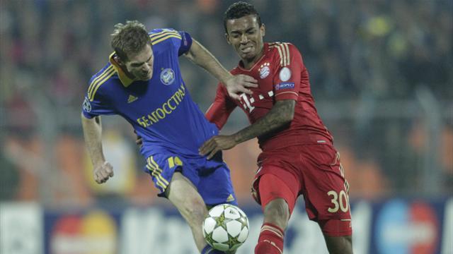 BATE Borisov stun Bayern Munich in Minsk