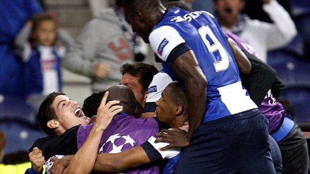 Late strike seals Porto win over PSG