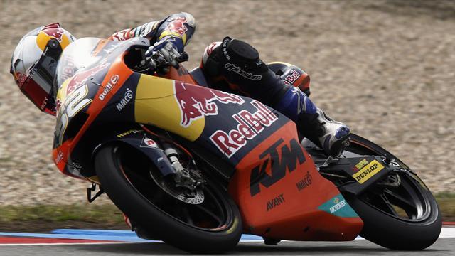 Motorcycling - Moto3: Kent beats Cortese in dramatic finish