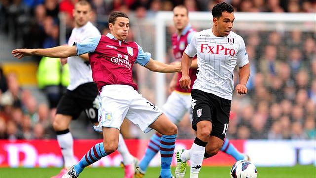 Premier League - Fulham leave it late to beat Villa