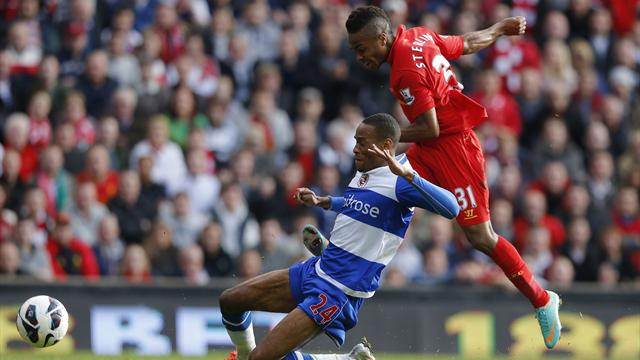 Premier League - Sterling scores first Premier League goal in Liverpool win