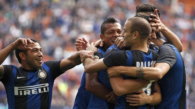 Italian Serie A - Depleted Inter beat Catania