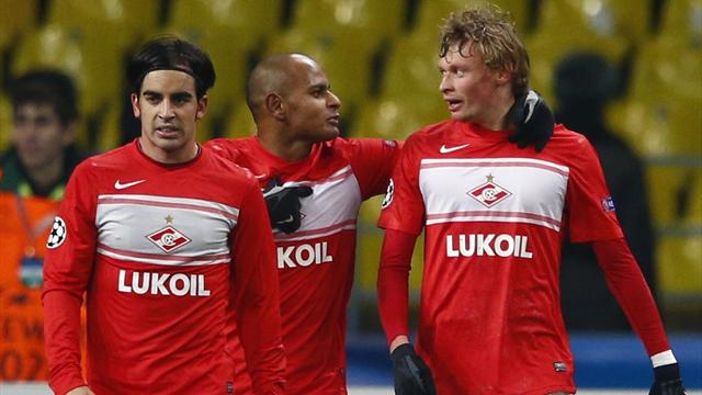 Champions League - Spartak stay alive with win over Benfica