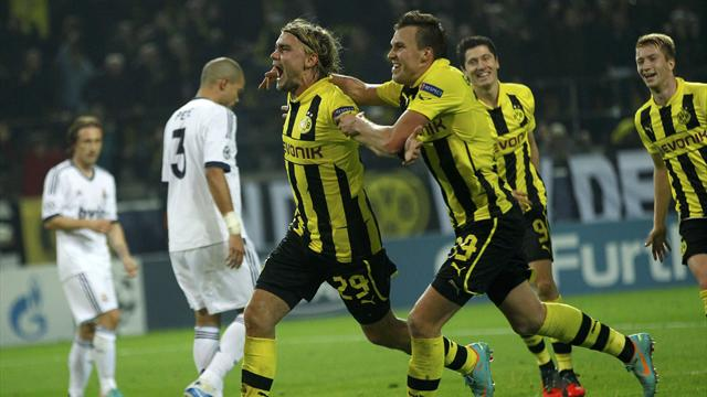 Champions League - Ronaldo goal fails to prevent Real defeat in Dortmund