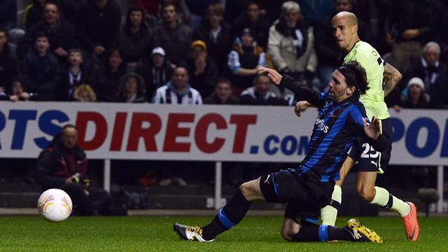Europa League - Obertan puts Newcastle in firm control