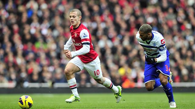 Premier League - Arsenal scrape win as Wilshere returns