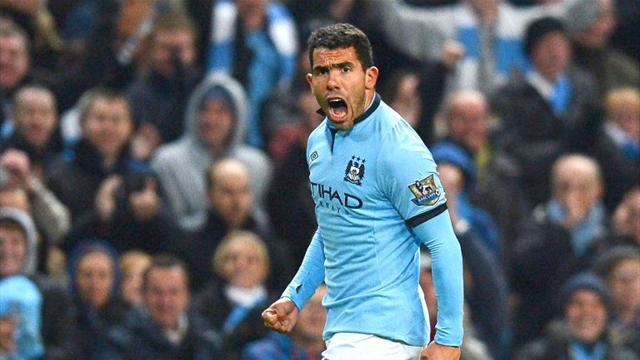 Premier League - Tevez lifts Man City out of doldrums