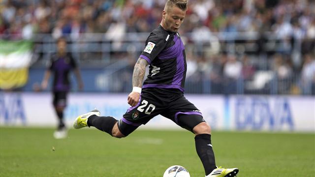 Spanish Liga - Real Valladolid down Osasuna