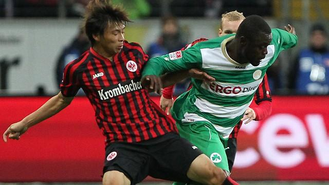 German Bundesliga  - Frankfurt held by Greuther Fuerth