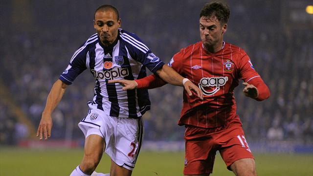 Premier League - Baggies climb to fifth after seeing off Saints