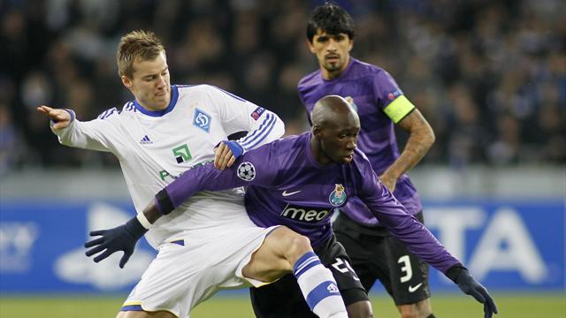 Champions League - Porto progress after bore draw in Kiev