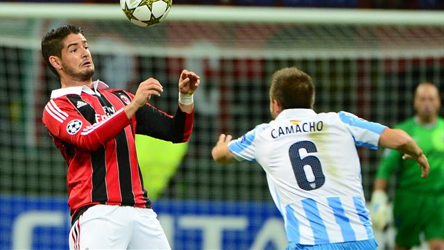Champions League - Malaga qualify with draw against Milan at San Siro