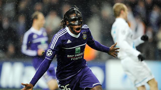 Champions League - Mbokani keeps Anderlecht's European dreams alive