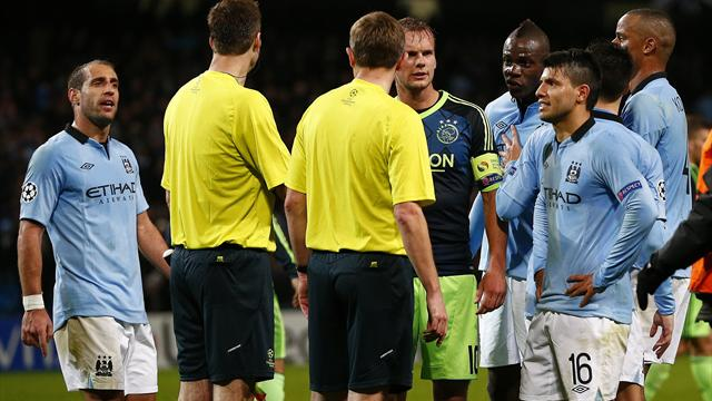 Champions League - Manchester City on brink of exit after Ajax draw