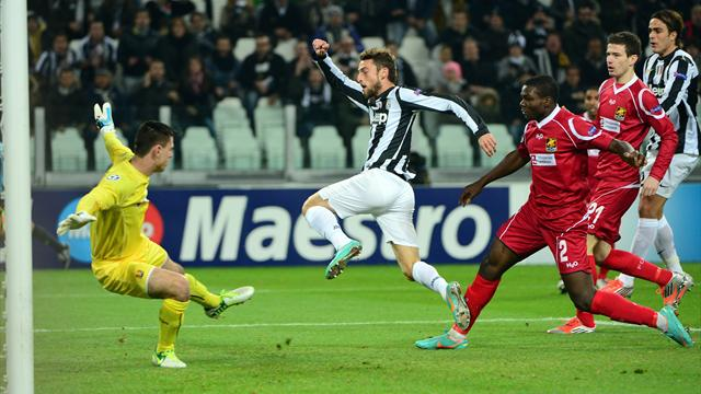 Champions League - Juventus too good for Nordsj�lland