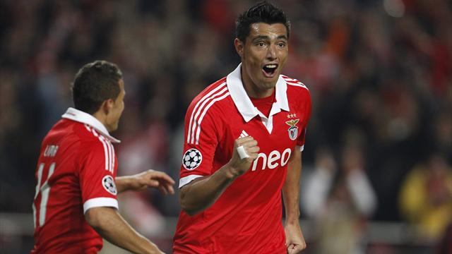 Champions League - Cardozo inspires Benfica to win over Spartak