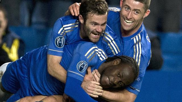 Champions League - Moses gives Chelsea dramatic last-gasp win