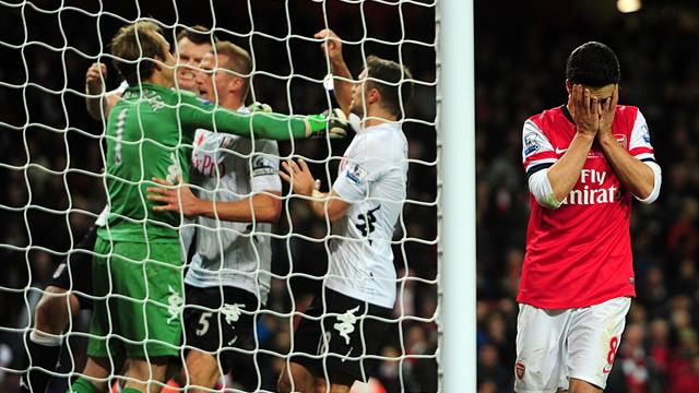 Premier League - Arsenal's woes continue with dramatic Fulham draw