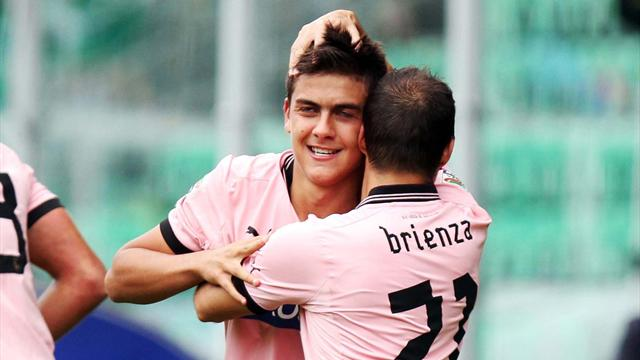 Serie A - Dybala fires Palermo to victory
