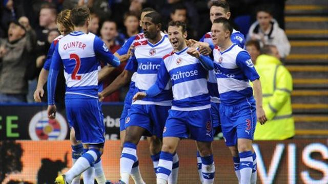 Premier League - Le Fondre brace gives Reading first win