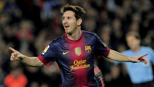 Liga - Messi nets another brace as Barca win