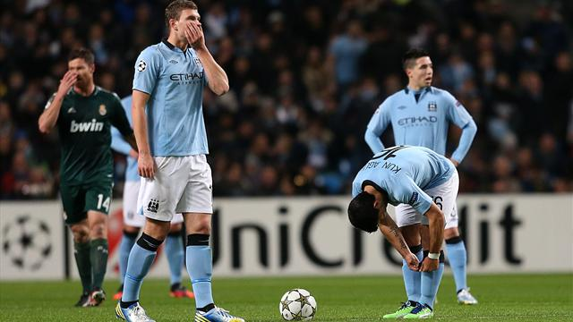 Champions League - Aguero penalty not enough as City crash out