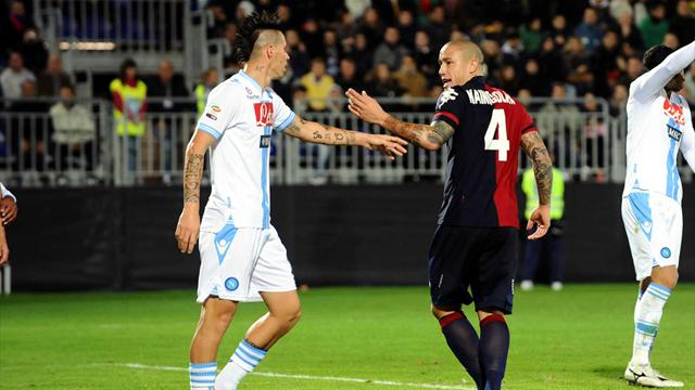 Serie A - Hamsik puts Napoli second