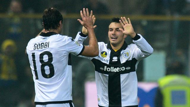 Serie A - Sensational Sansone helps Parma stun Inter