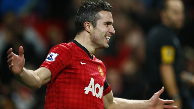 Premier League - Quickfire Van Persie goal sees off West Ham