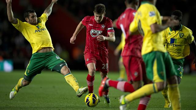 Premier League - Norwich frustrate Southampton to claim point