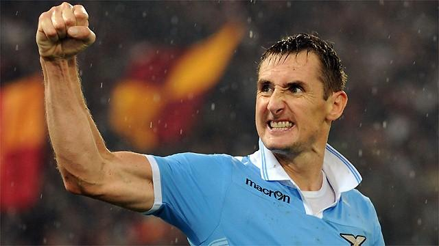 Serie A - Klose gives Lazio win over Inter