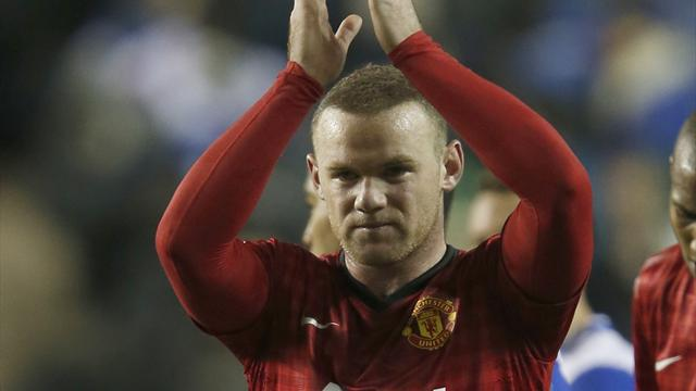 Premier League - Rooney double helps United edge Reading