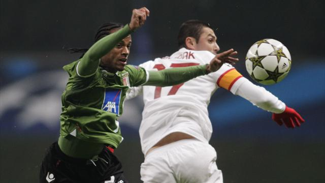 Champions League - Galatasaray beat Braga to reach last 16