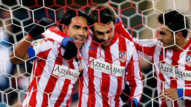 Liga - Adrian secures victory for Atletico