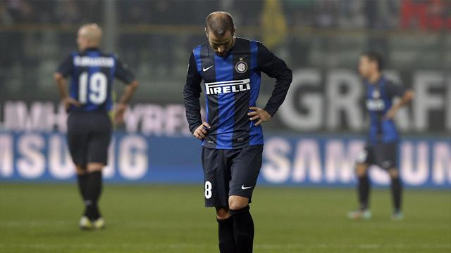 Serie A - Genoa dent Inter's title hopes