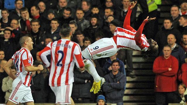 Premier League - Walters and Jones inspire Stoke to beat Liverpool