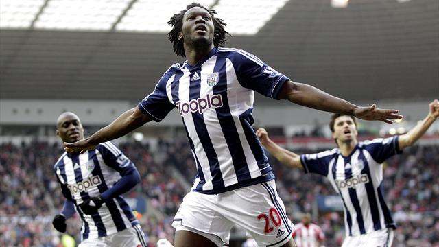 Premier League - West Brom prevail in feisty contest against Southampton