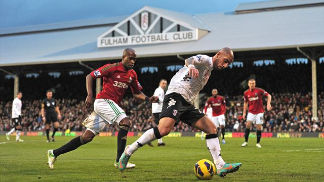 Premier League - Swansea add to Fulham frustrations