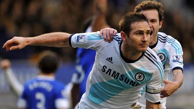 Premier League - Chelsea end Everton's unbeaten home record