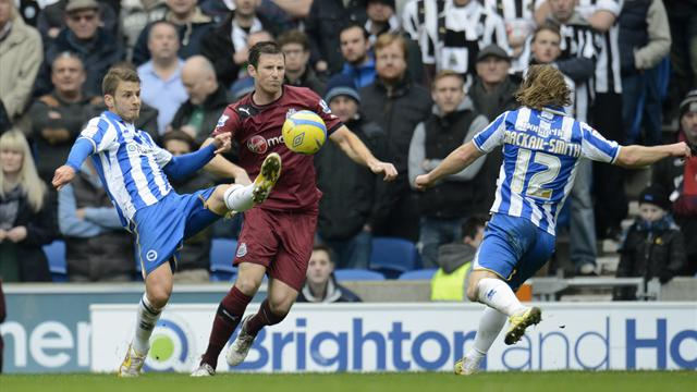 FA Cup - Brighton dump Newcastle out again