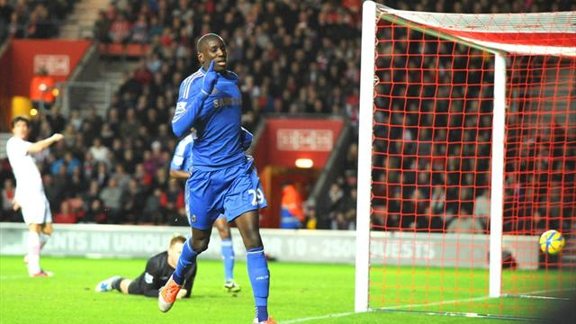 FA Cup - Ba nets double as Chelsea thrash Southampton