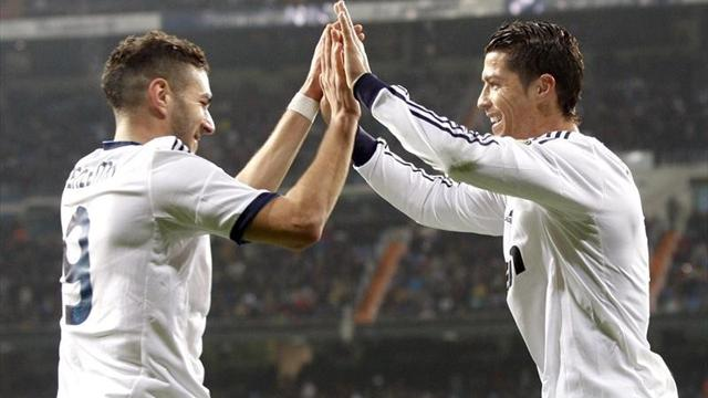 Liga - Real Madrid beat Valencia in Copa del Rey quarter-final