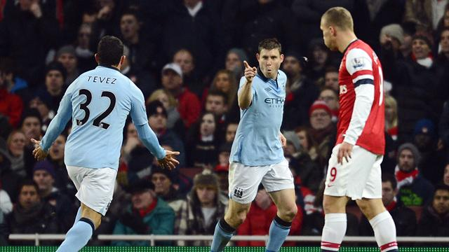 Premier League - Man City punish depleted Arsenal