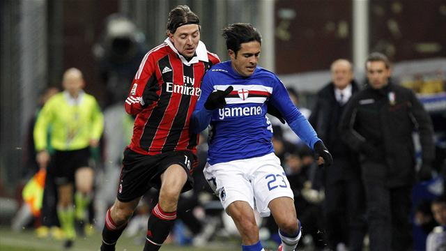 Serie A - Sampdoria frustrate Milan
