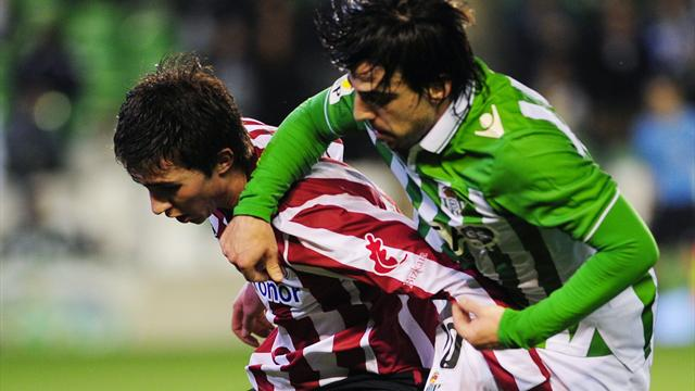 Spanish Liga - European hopefuls Betis thwarted at home to Bilbao