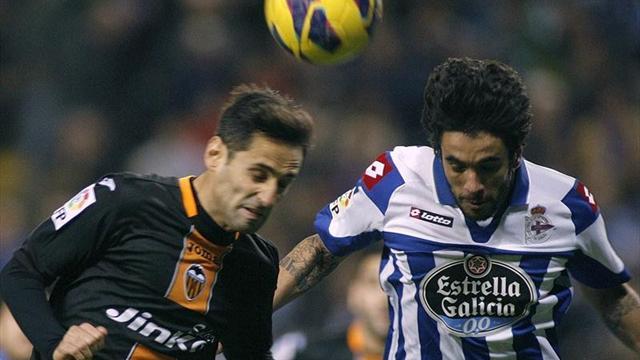 Spanish Liga - Costa strikes to sink nine-man Deportivo